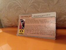 Gi JoeCobra'Strato- Vipe'File Card Vintage Action Figure Half Cut/ Raven Pilot