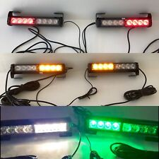 "2 X 10"" Rear Chase Led Light Bars W Amber&Amber  Strobe "" Trophy Truck "" Style"