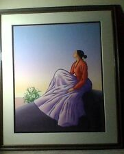 """RC Gorman """"New Dawn"""" Presentation Proof Lithograph MUST SELL MAKE OFFER"""