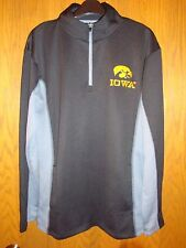 Iowa Hawkeyes Mens Knights Apparel Quarter Zip Pullover Size: 2XL NWT