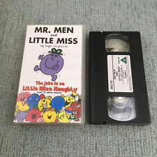 Mr Men And Little Miss - The Joke Is On Miss Naughty And Other Stories (VHS, 200