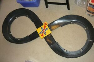 Vintage SIZZLERS Fat Track Breaking 8 Set Layout - No Cars or Chargers or Box