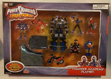 Power Rangers Ninja Storm Ninja Thunder Academy Playset With Megazord (MISB)