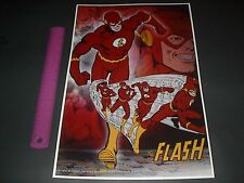 DC COMICS JUSTICE LEAGUE OF AMERICA THE FLASH BARRY ALLEN POSTER PIN UP