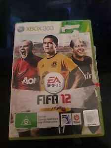 FIFA 12 XBOX 360 PAL - Free Post complete very good condition free post Aus pal