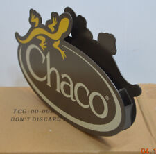Chaco Shoes Sign Double Sided Store Shoe Display Rare Metal