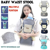Infant Baby Carrier Hip Seat Stool Adjustable Wrap Sling Backpack Ergonomic  ≏
