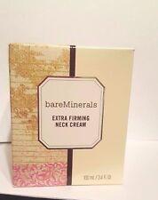 Bare Escentuals Extra-Firming Neck Cream Moisturizer Deluxe Size 3.4 oz NIB!