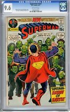 Superman   #237  CGC   9.6   NM+    Off - white pgs  5/71  Curt Swan & Murphy An
