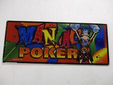 Video Poker Glass (Maniac)