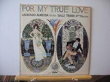 LAURINDO ALMEIDA / SALLI TERRI For My True Love CAPITOL CANADA VINYL LP P 8461
