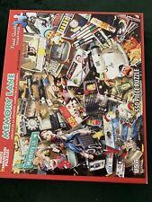 Jigsaw Puzzle Americana Memory Lane Nostalgia 550 pieces Made in USA