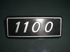 Emblem Badge Fiat 127 1100  Plastik ca. 95 x 35 mm