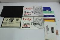 01 Dodge RAM 1500 Vehicle Owners Manual Handbook Guide Set