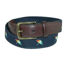 New Arnold Palmer Men's Ribbon Inlay Golf Belt