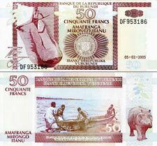 BURUNDI - 50 francs 2006 FDS - UNC