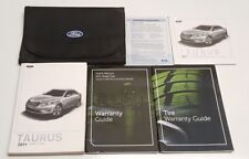 2011 FORD TAURUS OWNERS MANUAL USER GUIDE V6 3.5L SHO LIMITED SEL SE AWD 2WD SET