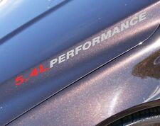 5.4L Triton V8 Ford F150 F250 F350 FX4 Hood Decal 02 03 04 05 06 07 08 09 2010