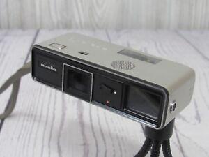 Minolta - 16 MODEL - P Rokkor 3.5 / 25 Camera 16mm Film Spy Subminature VTG