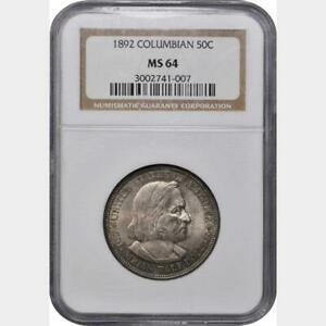 1892 Columbian Exposition NGC MS64
