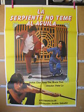 A1285 LA SERPIENTE NO TEME AL AGUILA. JACKIE CHEN, YANG THE, BRUCE THAI
