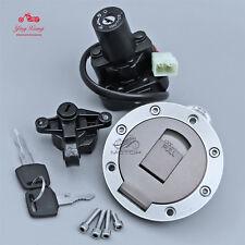 Ignition Switch Gas Cap Seat Lock Key Set Fits Yamaha YZF1000R/600R XJR600/400