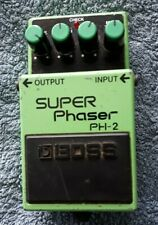 More details for boss super phaser ph-2 great working condition - 90s vintage - tested gwo