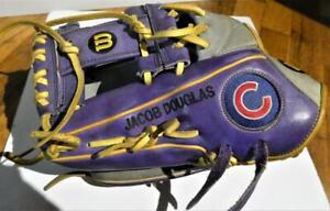 Custom-Wilson A2000 1781 12.25 Pro Stock Chicago Cubs Logo Infielders Glove LHT