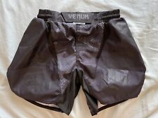 Venum Tactical Mma Fight Shorts Kick Boxing Bjj Euc Size S