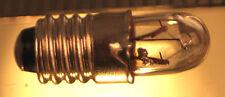 Life Like 5 Pack CLEAR Miniature Screw Base 16 Volt Light Bulb NEW Life-Like