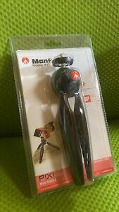 Manfrotto MTPIXI-B PIXI Mini Tripod (Black)