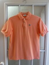 285c6c873b4a1 Lacoste Bright Orange Short Sleeve Polo Shirt Youth 16  Excellent