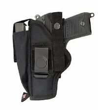 NYLON HIP BELT GUN HOLSTER FOR REMINGTON RP9 - 100% MADE IN U.S.A.