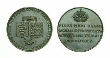 pcc1589_1) MILANO Francesco I (1815-1835) Medaglia del Giuramento 1815 TONED
