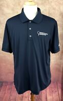Adidas Golf Men's Pure Motion United Leasing Championship Navy Polo Shirt XL