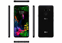LG G8 ThinQ 128GB Unlocked  Aurora Black  LM-G820UM