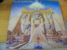 IRON MAIDEN POWERSLAVE LP  ITALY 1984