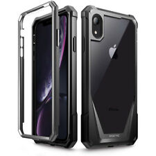 For iPhone XR Case Poetic Hybrid Bumper&Built-in-Screen-【Guardian】5 Color