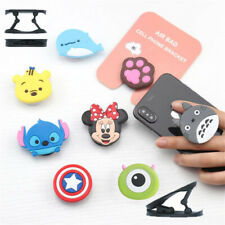 Universal socket mobile phone stretch bracket Cartoon 3D Phone Holder