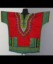 Unisex African Dashiki Shirt Dress Boho Hippe Gypsy Festival Tops
