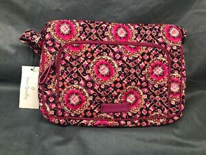 Vera Bradley Iconic RFID Little Hipster Raspberry Medallion NEW WITH TAGS!
