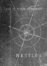 NESTLE - Nestle's This is Your Company Nestle Anglo-Swiss  1946 EDITION Book