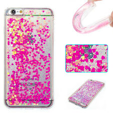 NEW Bling Dynamic Liquid Glitter Quicksand Soft TPU Back Cover Case For phone