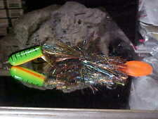 """12"""" Hairy Plopper TOP Water Globe and Bucktail Comb in HP-2 - Musky/Pike Fishing"""