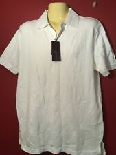 BLACK BROWN 1826 Men's Optic White Polo Shirt - Size Small - NWT $60