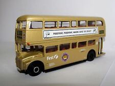 EFE ROUTEMASTER RML GOLD FIRST LONDON ROUTE 23 FELIX 1/76 25514B