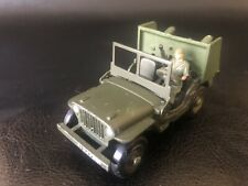 DINKY TOYS ORIGINAL - JEEP HOTCHKISS WILLYS - MILITAIRE - N° 80B