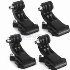 4Pcs Vertical Surface J-Hook Buckle Mount For GoPro Hero 5 4 3 2 1 Camera