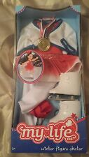 "NEW My Life A Figure Skater 18"" Doll Clothes & Accessory Set"