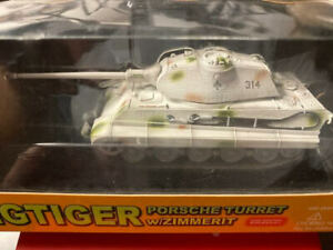 Dragon Armor 1:72 King Tiger Porsche Turret w/Zimmerit  #62004 - New in Box